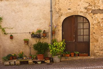 Hausfront in Südfrankreich von Anja B. Schäfer