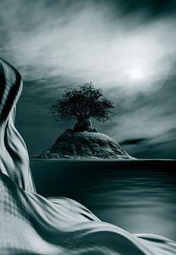 Surrealistische Ansicht von Angel Estevez