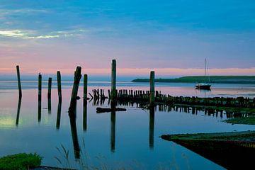 Nice colors at sunrise sur Dick Hooijschuur