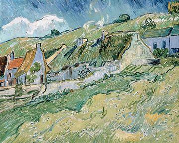 Maisons et chaumières, Vincent van Gogh sur