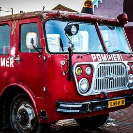 Oude brandweerwagen van YesItsRobin