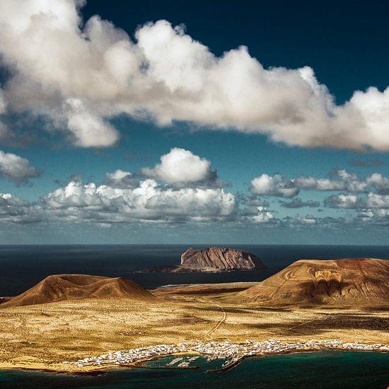 La Isla La Graciosa van Harrie Muis