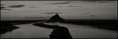 Panorama Le Mont Saint Michel van