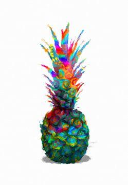 Ananas abstrakt sur Marion Tenbergen