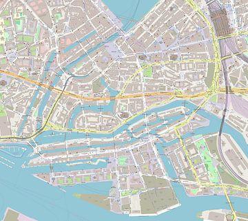 Speicherstadt im deutschen Hamburg in der Nähe der Hafencity
