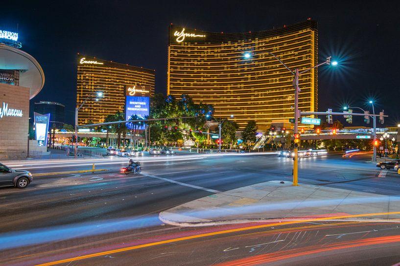 Las Vegas Traffic  van Ton Kool