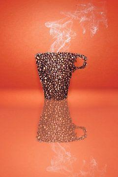 Coffee bean cup van Elianne van Turennout