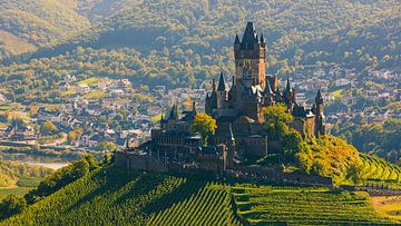 Reichsburg Cochem, Duitsland van Henk Meijer Photography