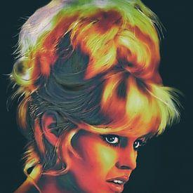 Brigitte Bardot - popart van Christine Nöhmeier