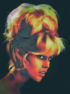 Brigitte Bardot - popart