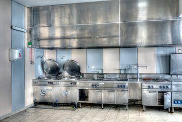 HDR keuken in een sanatorium van