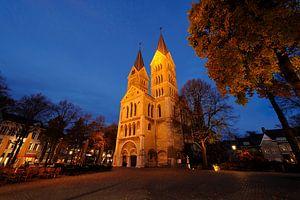 Munsterkerk aan Munsterplein in Roermond