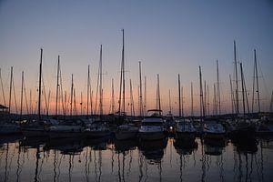De haven van Pula van