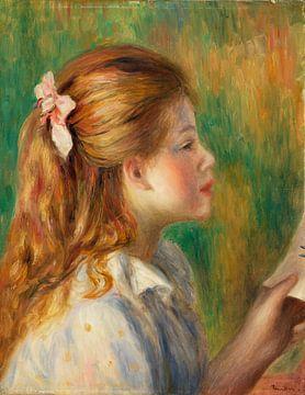 Renoir, lesend (1892)