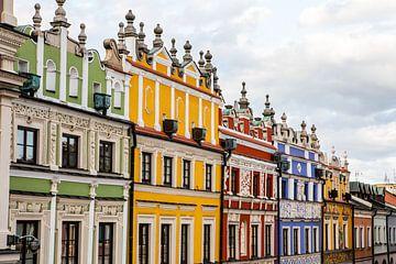 Zamosc stad in Polen van Eric van Nieuwland