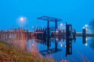 Bloemhofbrug over het Eemskanaal bij Overschild