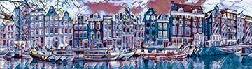 Amsterdam, Kanalgürtel von Rietje Bulthuis