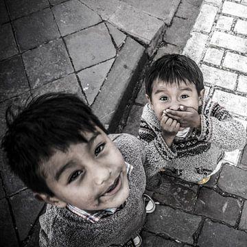 Kinderen uit Peru van Rob Bleijenberg