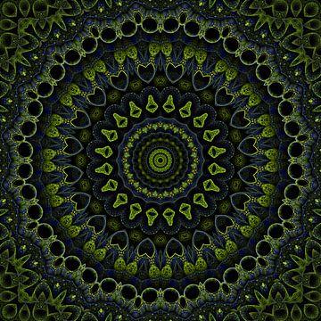 Vert Mandala sur Marion Tenbergen