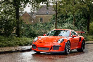 Porsche 911 GT3 RS voiture de sport sur Sjoerd van der Wal
