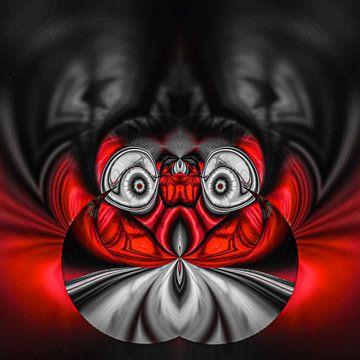 Fantasierijke abstracte twirlillustratie 122/19 van PICTURES MAKE MOMENTS