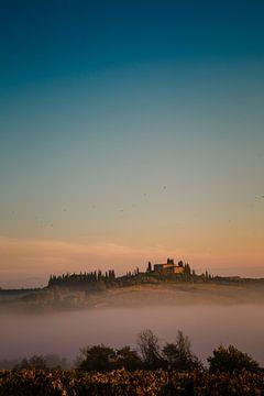 Ochtend in San Gimignano van