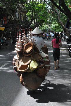 Vietnam Hat Seller  sur Charlotte van Noort