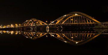 Panorama 2:1 Enneus Heerma Brücke Amsterdam IJburg von FotoBob