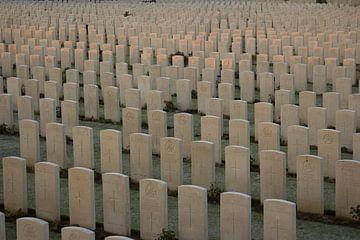 Tyne Cot Cemetery  Britse militaire begraafplaats met gesneuvelden uit de Eerste Wereldoorlog van