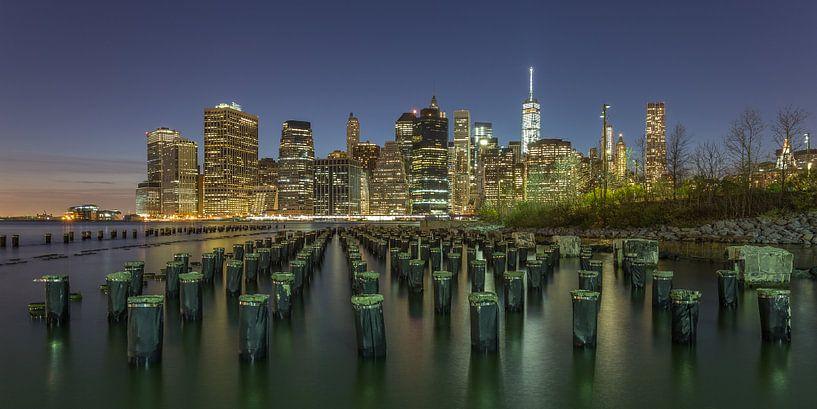 New York Skyline - 4 van Tux Photography