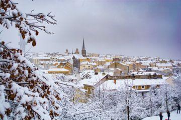 Praag in de sneeuw