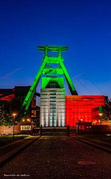 Zeche Zollverein.II - 75e verjaardag van NRW van Lichter-der-Stadt in NRW