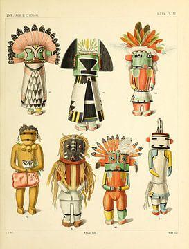 Indianenpoppen van Atelier Liesjes