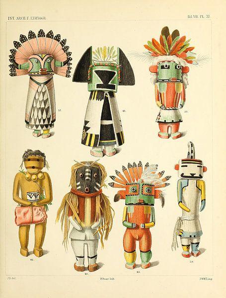 Indische Puppen von Atelier Liesjes