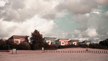 Strandhuisjes Makkum van Johannes Schotanus