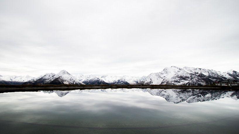 Berge-Panorama von Lisa Becker