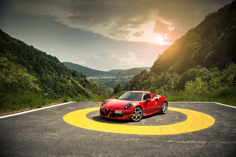 Alfa Romeo 4C King of the Hill van Sytse Dijkstra