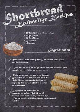 Dessert Recept - Shortbread koekjes van JayJay Artworks