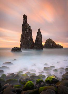 The Guardians in Ribeira de Janelo op Madeira van Jos Pannekoek