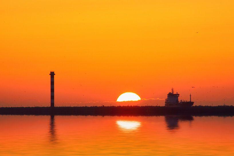 Sunset sur Peet de Rouw