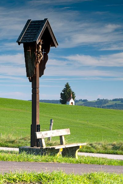Fatimakapelle bei Saulgrub von Andreas Müller