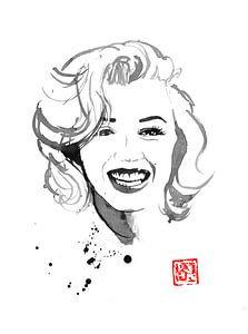 lachende Marilyn
