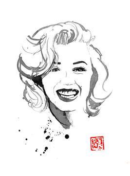 Lächelnde Marilyn von philippe imbert
