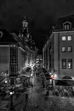 Dresden at night van