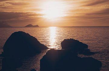 Sunset von Nannie van der Wal