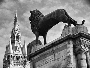 Braunschweig leeuwenstandbeeld
