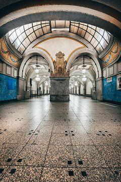 Berlin Metro Station von Iman Azizi