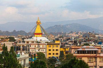 Bodnath Stupa in Kathmandu, Nepal von Jan Schuler