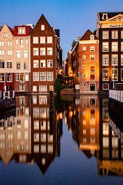 Amsterdam | Damrak, Blick auf Guldenhandsteeg von Mark Zoet