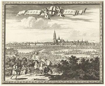 Ansicht von Amersfoort, Thomas Doesburgh, 1692 - 1714